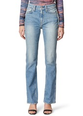 Hudson Jeans Abbey High Waist Bootcut Jeans (Never Enough)