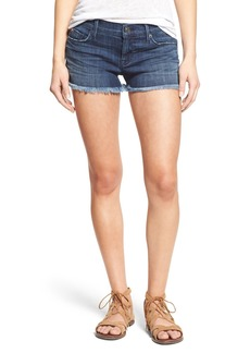 Hudson Jeans 'Amber' Cutoff Denim Shorts (Blue Crest)