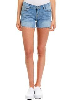Hudson Jeans Amber Festival Blue Fray Hem Short