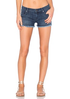 Hudson Jeans Amber Unfinished Hem Short