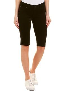 Hudson Jeans Amelia Black Knee Short