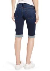Hudson Jeans Amelia Cuff Bermuda Shorts