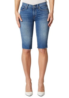 Hudson Jeans Amelia Cut-Off Knee-Length Shorts