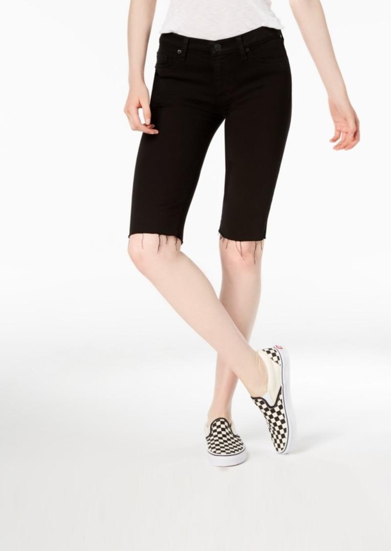 Hudson Jeans Amelia Cutoff Denim Bermuda Shorts
