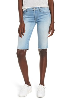 Hudson Jeans Amelia Cutoff Knee Shorts (Closer)