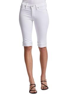 Hudson Jeans Amelia Denim Bermuda Shorts