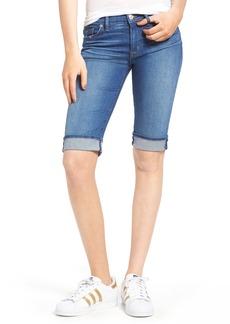 Hudson Jeans Amelia Roll Cuff Knee Shorts (Take a Walk)