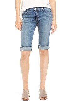 Hudson Jeans Amelia Rolled Knee Shorts (Phantasy)