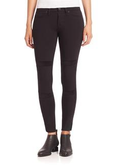 Hudson Jeans Amory Velvet Inset Skinny Jeans