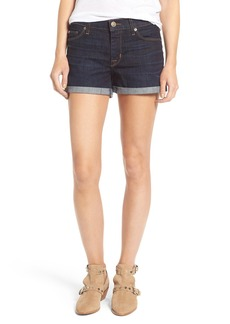 Hudson Jeans Asha Rolled Cuff Shorts (Novice)
