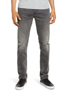 Hudson Jeans Axl Ripped Skinny Fit Jeans (Grays)