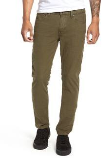 Hudson Jeans Axl Skinny Fit Jeans (Fatigue Green)
