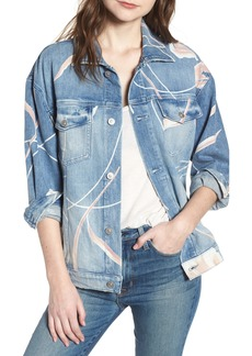 Hudson Jeans Bandit Denim Trucker Jacket
