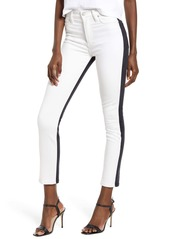 Hudson Jeans Barbara - Vice Versa High Waist Ankle Super Skinny Jeans (Total Eclipse)