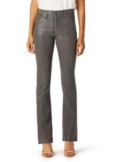 Hudson Jeans Barbara Coated High Waist Bootcut Jeans