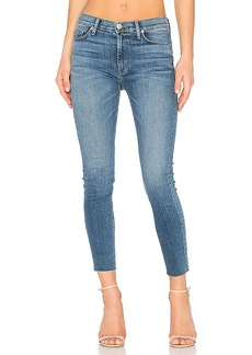 Hudson Jeans Barbara Frayed Hem Super Skinny. - size 25 (also in 26,27,28,30)