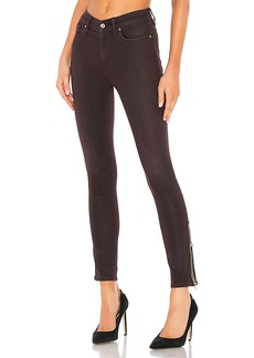 Hudson Jeans Barbara High Rise Ankle Jewel Side Zip