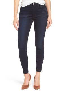 Hudson Jeans Barbara High Waist Skinny Jeans (Night Vision 2)