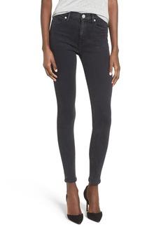 Hudson Jeans Barbara High Rise Super Skinny Jeans (Bazooka)