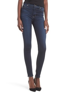 Hudson Jeans Barbara High Rise Super Skinny Jeans (Recruit)