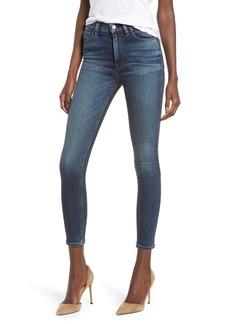 Hudson Jeans Barbara High Waist Ankle Skinny Jeans (Clean Side Bar)