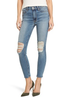 Hudson Jeans Barbara High Waist Ankle Skinny Jeans (Confection)