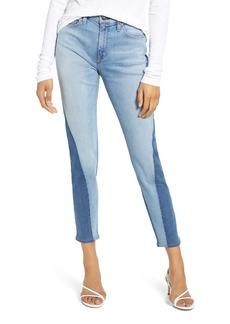 Hudson Jeans Barbara High Waist Ankle Skinny Jeans (Whisper)