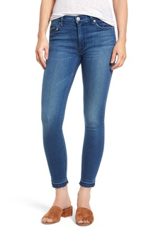Hudson Jeans Barbara High Waist Ankle Super Skinny Jeans (Blue Riot)