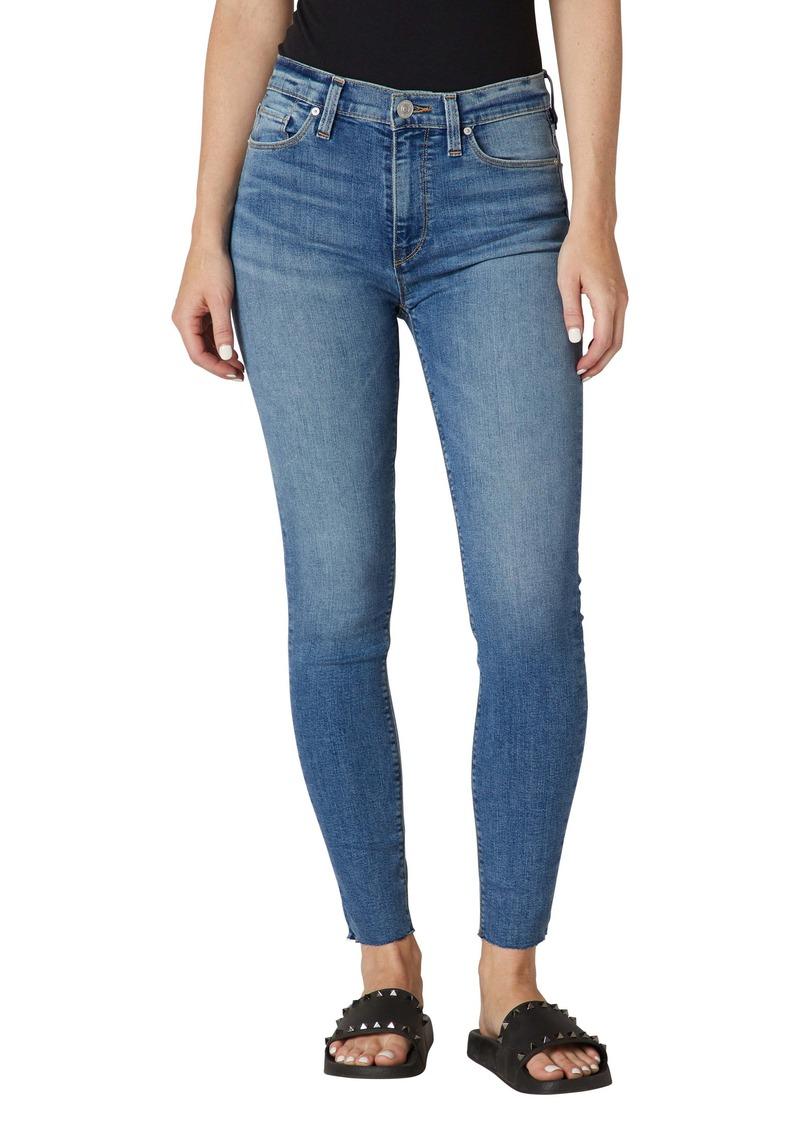 Hudson Jeans Barbara High Waist Ankle Super Skinny Jeans (Brighton)