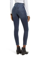 Hudson Jeans Barbara High Waist Ankle Super Skinny Jeans (Gambit)