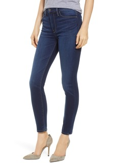 Hudson Jeans Barbara High Waist Ankle Super Skinny Jeans (Baltic)