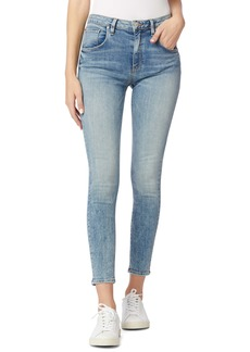 Hudson Jeans Barbara High Waist Flap Pocket Super Skinny Jeans (Moving On)