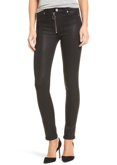 Hudson Jeans Barbara High Waist Skinny Faux Leather Pants