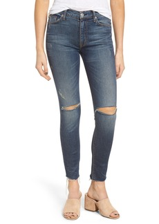 Hudson Jeans Barbara High Waist Skinny Jeans (Nowhere Girl)