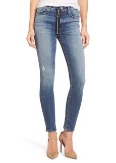 Hudson Jeans Barbara High Waist Skinny Jeans (Suburbia)