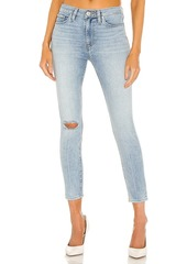 Hudson Jeans Barbara High Waist Super Skinny Crop