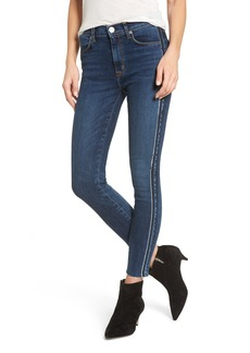 Hudson Jeans Barbara High Waist Super Skinny Jeans (Fatal)