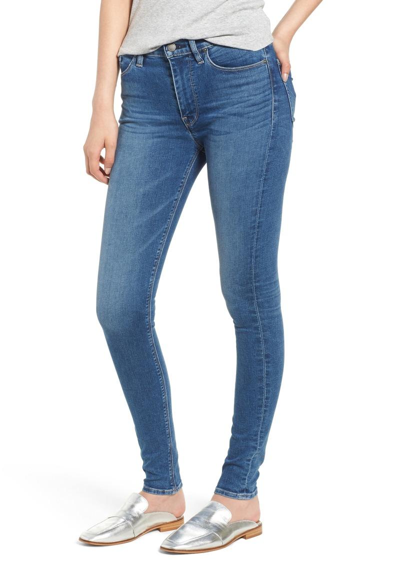 Hudson Jeans Barbara High Waist Super Skinny Jeans (Ayon)