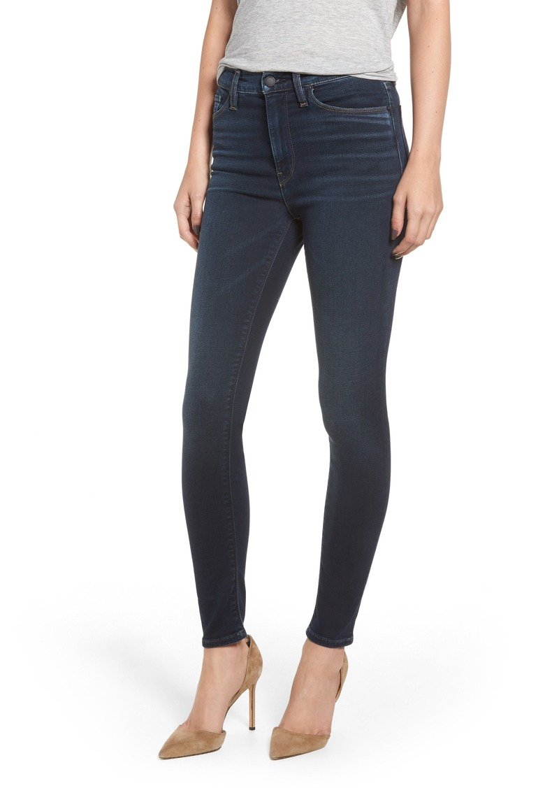 Hudson Jeans Barbara High Waist Super Skinny Jeans (Down 'n' Out)