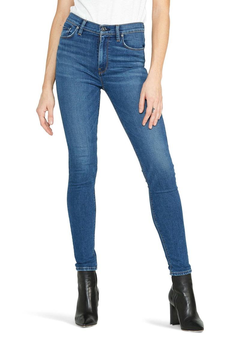 Hudson Jeans Barbara High Waist Super Skinny Jeans (Excursion)