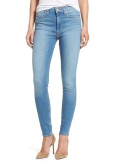 Hudson Jeans Barbara High Waist Super Skinny Jeans (Reality)