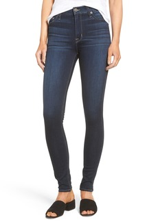 Hudson Jeans Barbara High Waist Super Skinny Jeans (Recruit 2)