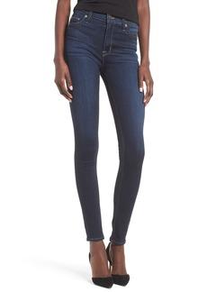 Hudson Jeans Barbara High Waist Super Skinny Jeans (Recruit)