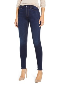 Hudson Jeans Barbara High Waist Super Skinny Jeans (Requiem)