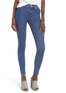 Hudson Jeans Barbara High Waist Super Skinny Jeans (Void)