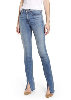 Hudson Jeans Barbara High Waist Super Skinny Kick Jeans (Clean Provoking)