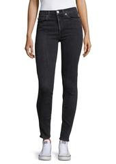 Hudson Jeans Barbara Mid-Rise Skinny Jeans
