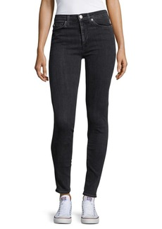Hudson Jeans Barbara Mid-Rise Skinny Jeans