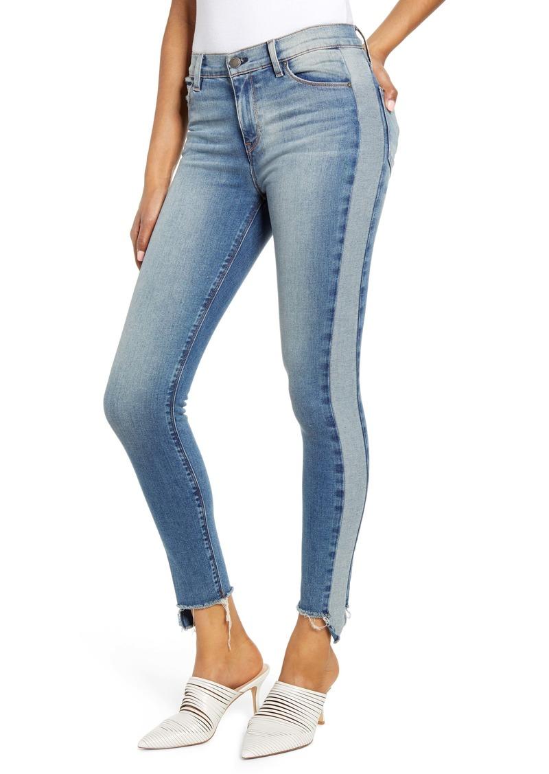 Hudson Jeans Barbara Side Stripe High Waist Ankle Skinny Jeans (Headliner)