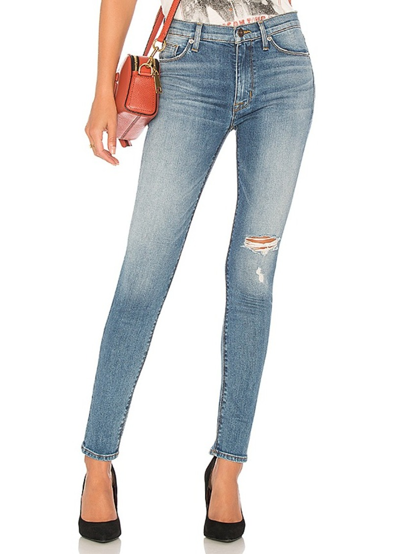 Nico Mid Crop Super Skinny Jean. - size 25 (also in 23,24,26,27,28,29,30) Hudson